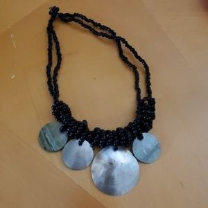 Jewelry - Beaded Black Necklace